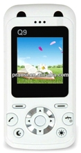 Q9 child phone with bar design,mp3,,bluetooth,1.8inch LCD sos gps smart kids phone