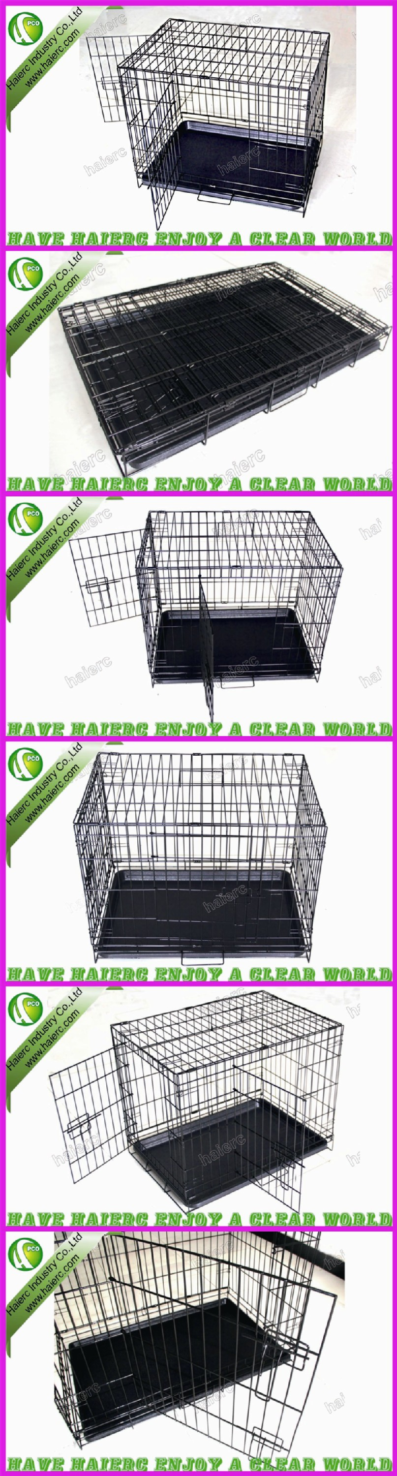 Factory Dog Kennel, Foldable Dog Cage DSA24