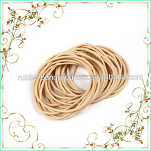 Elastic Brown Colored Rubber Bands For Office School Home Stationery
