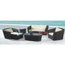 Hot sale fashion rattan outdoor sofa set outdoor furniture