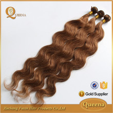 2015 New Products Secret Hair Extension Blonde Brazilian Top 7A Body Wave Hair Color 27 30
