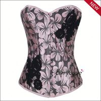 Young woman gothic corset top wholesale ladies sexy tight lacing corset