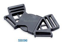 Plastic Polygon 3 way plastic buckle