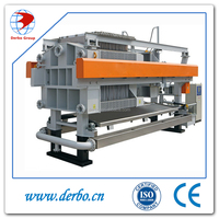 Energy saving plate and frame filter press machine
