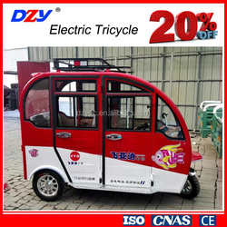 Comfortable and Safe Passengers Electric Tricycle