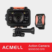 SOOCOO S70 Stocklot 2K 30FPS xiaomi yi action camera travel edition