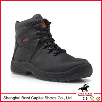 Oil water resistant S1P Working industrial safety boots/leather safety shoes/safety shoes price