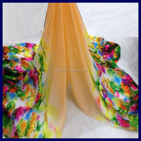 purple chiffon fabric flower printed chiffon fabric printed polyester chiffon fabric
