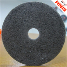Grinding of stainless steel grey polishing wheel