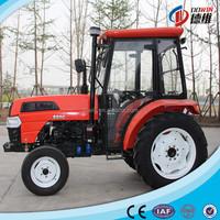 55hp 2 wheel farm machinery tractor