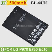 1500mAh New Replacement BL-44JN BL44JN Battery For LG Optimus Black P970 Net P690 pro C660 Batterie Batterij Bateria AKKU