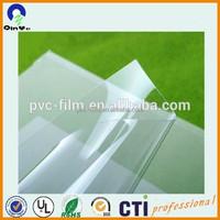 Wall stickers super clear transparent soft pvc sheet