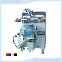 Semi automatic silk screen printing equpment for water bucket and container