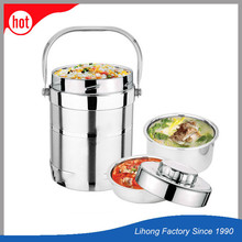 wholesale metal stainless steel hot lunch box