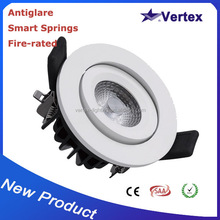 chinese products wholesale free shipping led cob fire-rated 8w recessed lights led