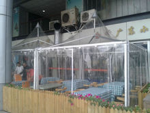 Clear PVC Window New Pagoda tents 9m*9m For Meeting