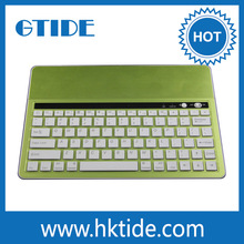 Gtide brand new design for ipad air bluetooth keyboard metal case 2014 new promotional products