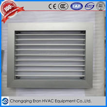 Hvac system decorative anodized aluminium return air vent grille