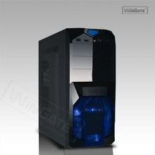 NEW Black ATX Mid Tower PC Gaming Case Hot Swap Enabled SATA HDD Front Load Tray