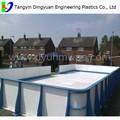 Patio trasero de pista de tableros/patio trasero pistas de hielo para la venta/pista de hielo del patio trasero de la fábrica
