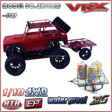 VRX Racing New product released Rc jeep car,with traiker rc car,electric powered car
