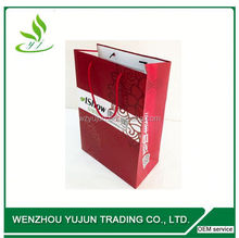 2014 new paper bag / hot sale paper gift bag / christmas crafts famous branded aluminium foil paper bag