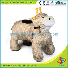 GM591 Hot in Spain,electric animal ride,plush toy giraffe