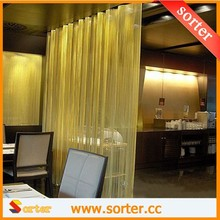 2015 New style Customized Metal Coil Drapery Room Divider for Home Decoration