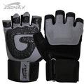 alta calidad levantamiento de pesas guantes