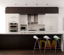 MDF kitchen cabinet contracted modern kitchen cupboard