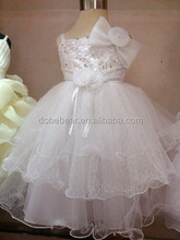 fashion style baby wedding dress hot new model 2014 wedding dress baby girl party dress children frocks designs