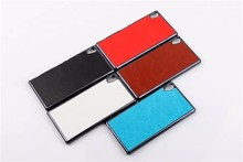 Mobile Phone PU Leather Ultra Thin Case Cover For Sony Xperia Z4