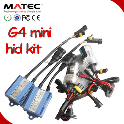 Mini Matec xenon hid Kit h4 high low H4-3 Hi/Lo car Bi xenon hid kits, 35w Hi Lo Beam Lamp for honda accord