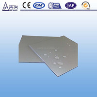 ISO: AlCu6BiPb thin aluminum sheets /polished aluminum sheet