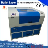 Hailei Factory fiber laser marking machine metal engraving machine power 20W qr code laser engraving machine