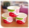 Custom mini small size 5oz cute paper ice cream cups