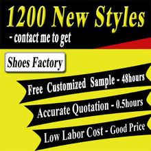 Handmade multicolor colour change shoe