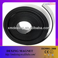 Rubber magnetic strip/strong strip magnets/thin magnetic strips