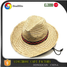 Made In China Custom Mexico Straw Hat For Men