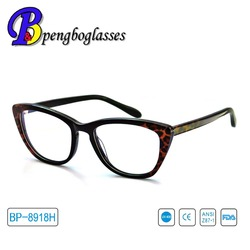 Latest fashion Ladies acetate optical frame