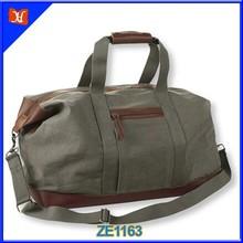Trendy 2014 vintage canvas bag, canvas duffel bag, fashion canvas bag, high quality waxed canvas weekend travel duffle bag
