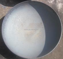 ASME standard steel elliptical bottom for tank pressure vessel