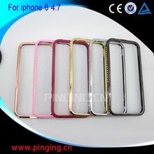 for iphone 6 case aluminium, metal aluminium frame bumper case for iphone 6