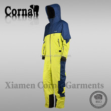 New arrival 100% polyester warm keeping windproof ski sports man jumpsuit