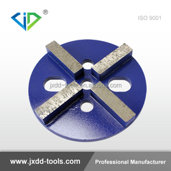 4-Segment Diamond Concrete Tools Metal Polishing Pads