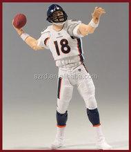 Halloween gift wholesale football player custom action figures