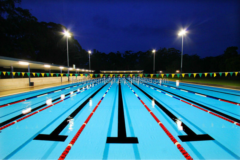 swimming pool lane lines background design decorating