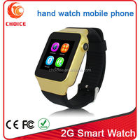 New wholesale trend design not dual sim wrist smart watch mobile phone from china watch manufacturer