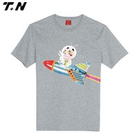 cheap wholesale super soft 100% cotton kids t-shirt cartoon printing
