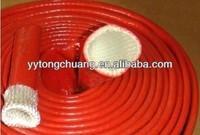 silicone rubber coatd fiberglass insulation sleeving